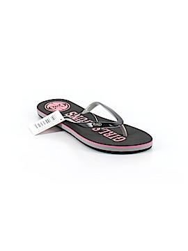 GWG Girls with Guns Flip Flops Size 8