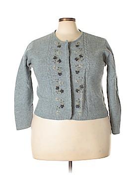 Eddie Bauer Wool Cardigan Size XXL