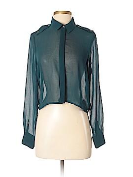 Lush Long Sleeve Button-Down Shirt Size S