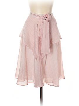 Luca Luca Silk Skirt Size 48 (IT)