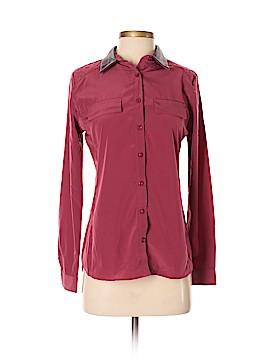 Olive and Oak Long Sleeve Blouse Size XS