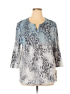 Alfred Dunner Long Sleeve T-Shirt Size XL