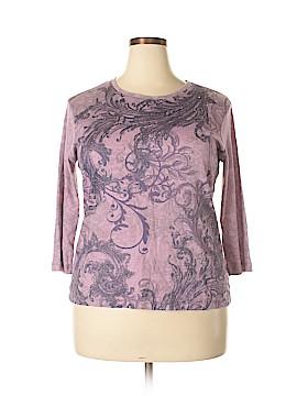 Nicki by Nicole Miller 3/4 Sleeve T-Shirt Size XL