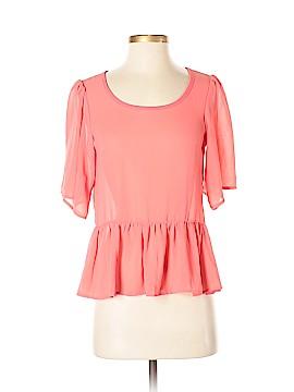 Manito USA Short Sleeve Blouse Size S