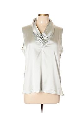 Armani Collezioni Sleeveless Silk Top Size 12