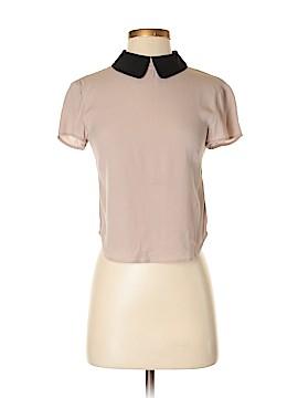 Sunday Best Short Sleeve Blouse Size XXS