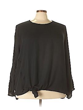 Ava & Viv Long Sleeve Blouse Size 4X (Plus)