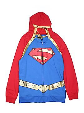 Superman Zip Up Hoodie Size XL