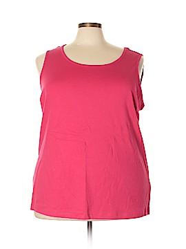 Lands' End Sleeveless T-Shirt Size 3X (Plus)
