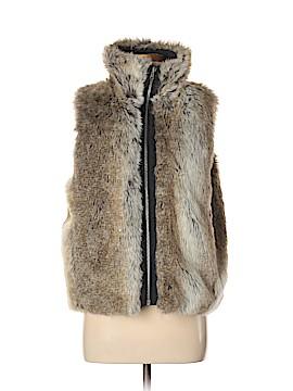 Weatherproof Faux Fur Vest Size M