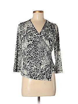 Cheryl Nash Windridge 3/4 Sleeve Top Size M