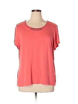Laura Ashley Short Sleeve Top Size XL