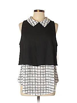 Trixxi Sleeveless Blouse Size XL