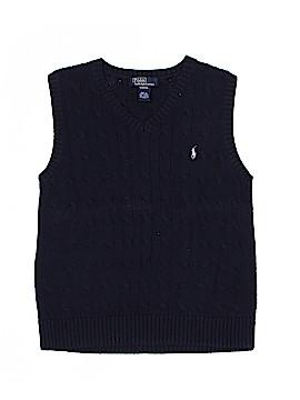 Polo by Ralph Lauren Sweater Vest Size 8 - 10