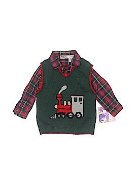 Blueberi Boulevard Sweater Vest Size 18 mo