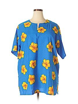 Oasis Short Sleeve Blouse Size XL
