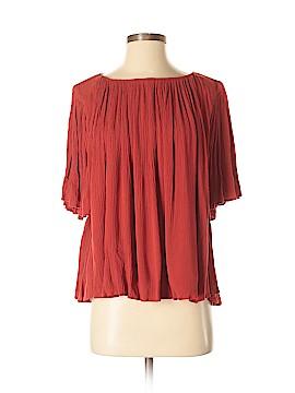 Mango Short Sleeve Blouse Size 2