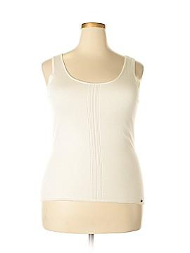 Tesori Silk Pullover Sweater Size XL