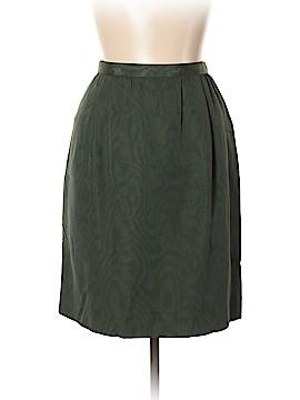 Carolina Herrera Silk Skirt Size 10