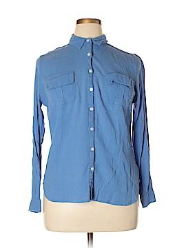 Boden Long Sleeve Button-Down Shirt Size 14