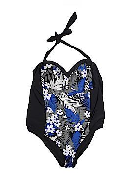 Tropical Escape One Piece Swimsuit Size 24 (Plus)