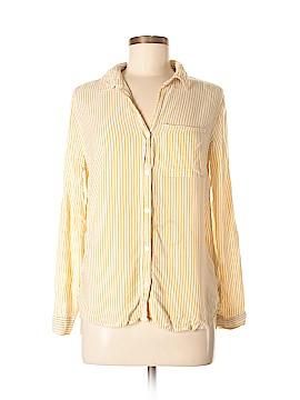 Velvet Heart Long Sleeve Button-Down Shirt Size S