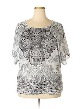 Closet Full Short Sleeve Top Size L