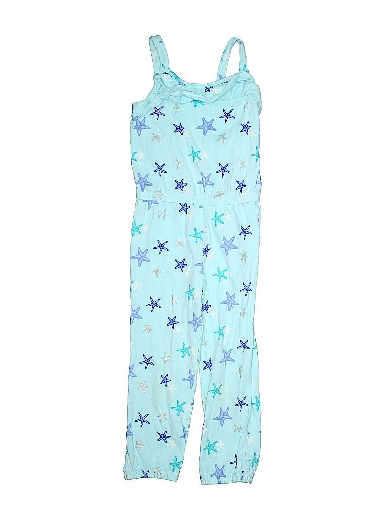 92e2bbc0f9d Gymboree 100% Cotton Stars Blue Romper Size 5T - 93% off