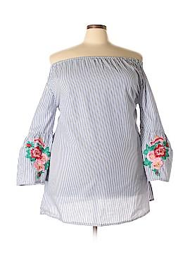 Velzera 3/4 Sleeve Blouse Size 2X (Plus)