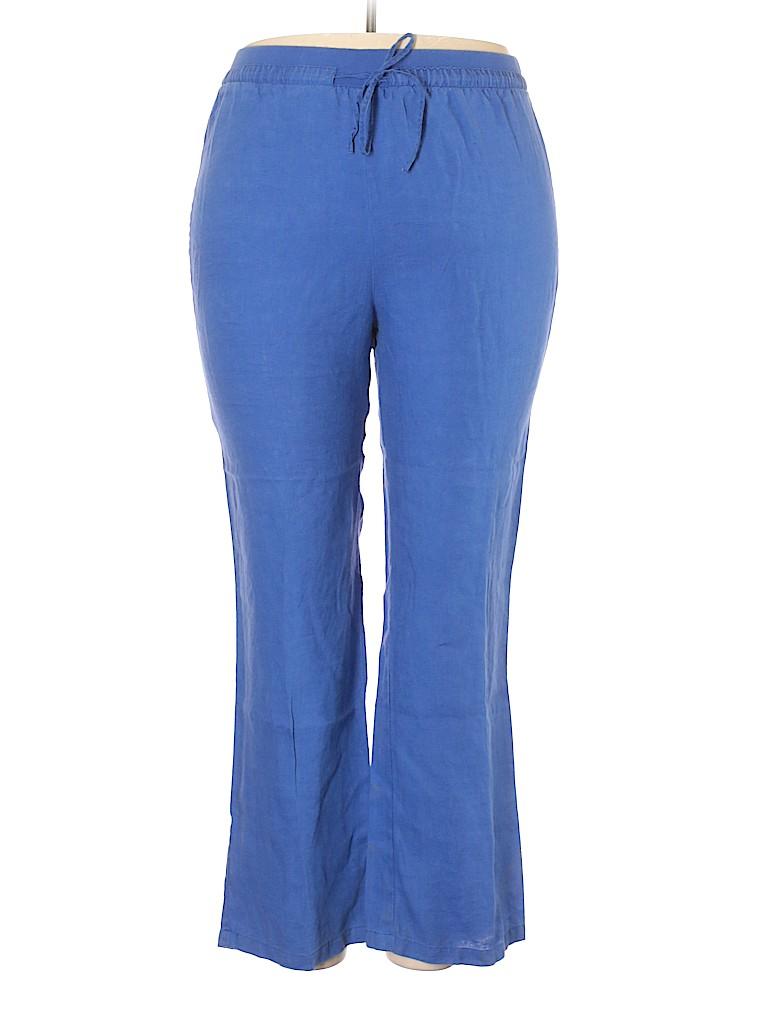 Ellen Tracy Women Casual Pants Size XL