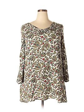 Velzera Long Sleeve Blouse Size 1X (Plus)