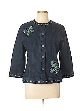 Alfred Dunner Denim Jacket Size 12 (Petite)