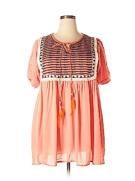 Velzera Short Sleeve Top Size 2XL (Plus)