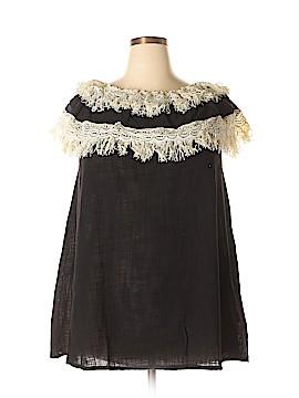 Velzera Short Sleeve Blouse Size 1XL (Plus)
