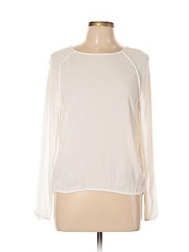 Mango Long Sleeve Blouse Size 8