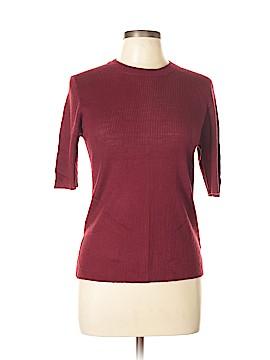Line & Dot Short Sleeve Top Size L