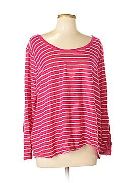 Caribbean Joe Long Sleeve T-Shirt Size 2X (Plus)
