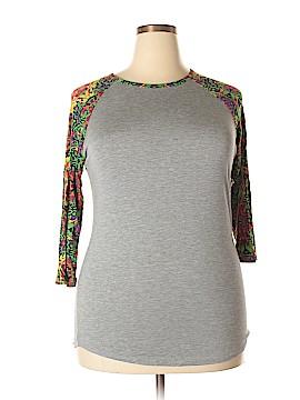 Lularoe 3/4 Sleeve T-Shirt Size L