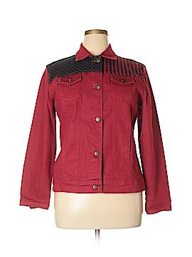 DG^2 by Diane Gilman Denim Jacket Size L