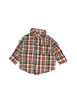 Gymboree Long Sleeve Button-Down Shirt Size 3-6 mo