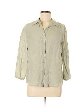 J.jill 3/4 Sleeve Silk Top Size M