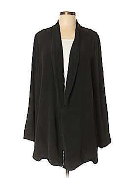 Raquel Allegra Silk Cardigan Size Lg (3)