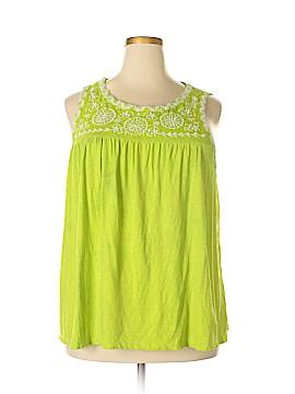 Crown & Ivy Sleeveless Blouse Size 3X (Plus)
