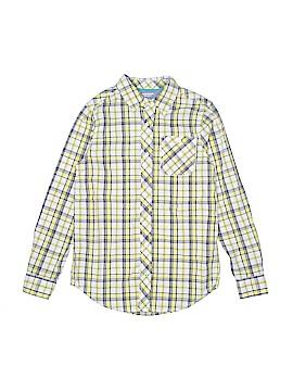Arizona Jean Company Long Sleeve Button-Down Shirt Size X-Large (Youth)