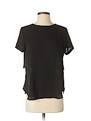 Lush Women Short Sleeve Blouse Size S