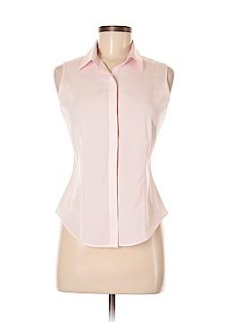 Talbots Sleeveless Button-Down Shirt Size 8 (Petite)