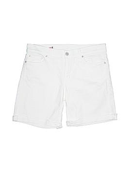 Red Engine Denim Shorts 28 Waist