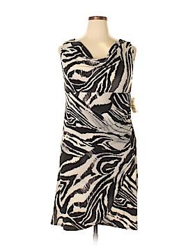 Bisou Bisou Casual Dress Size 16 (Plus)