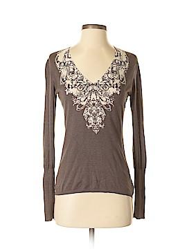 T Tahari Silk Pullover Sweater Size XS