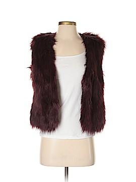 Express Faux Fur Vest Size S